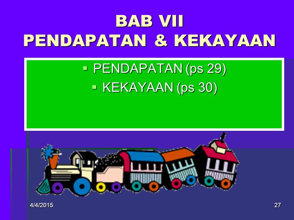 4/4/201526  MUSAYAWARAH (ps 27)  REFERENDUM (ps 28) BAB VI MUSYAWARAH & REFERENDUM