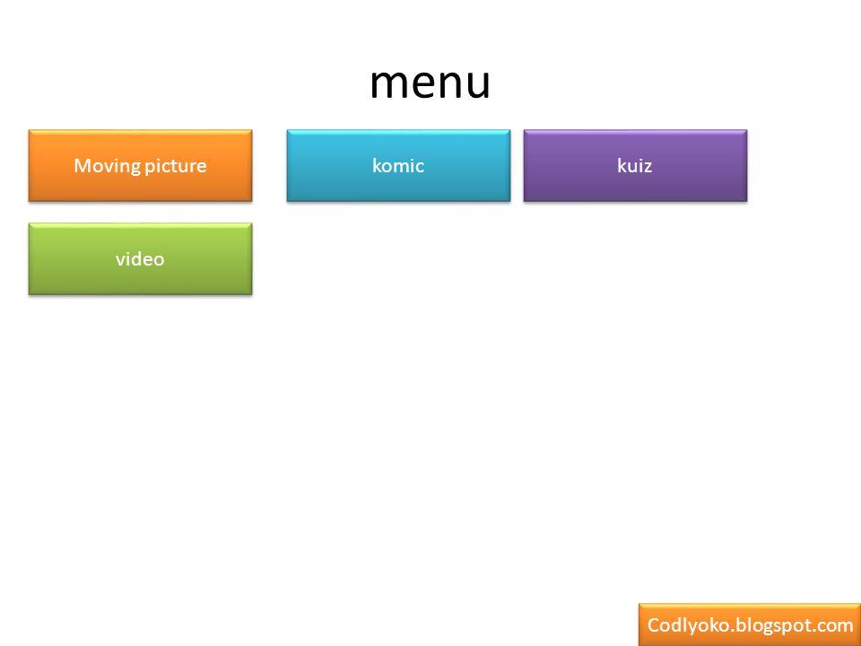 Moving picture menu Codlyoko.blogspot.com