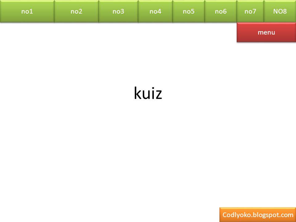 no1 no2 no3 no4 no5 no6 no7 NO8 kuiz menu Codlyoko.blogspot.com