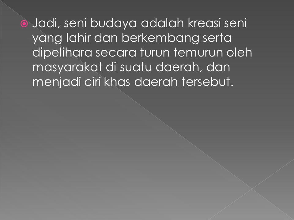  Sub Etnis Jawa Kulonan a.Derahnya dekat dengan kebudayaan jawa yang berakar dari jawa tengah b.