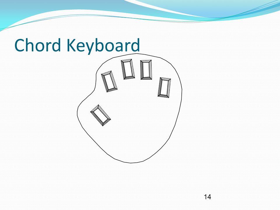 14 Chord Keyboard