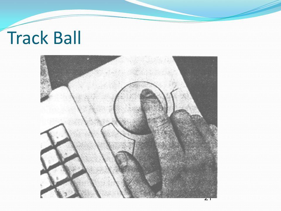21 Track Ball