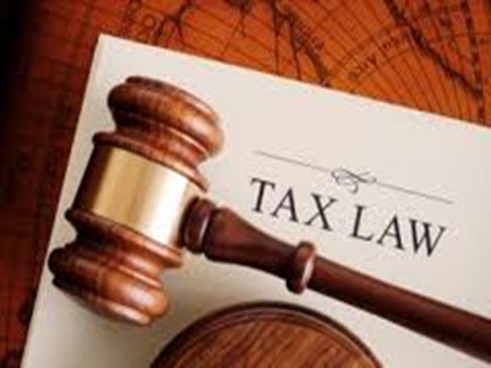 Hukum Pajak : dari definisi pajak, maka Pajak berkaitan dengan UU.