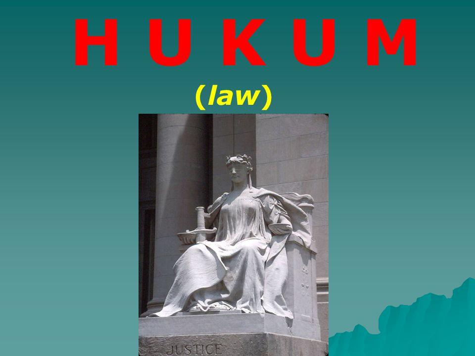 H U K U M (law)