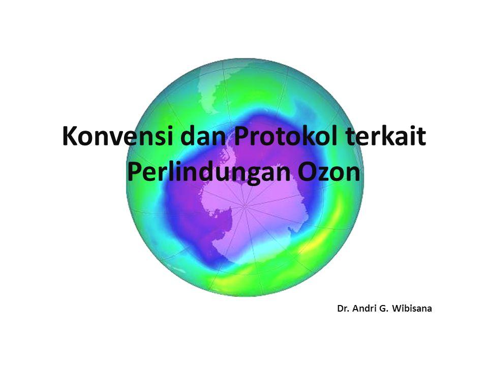 Konvensi dan Protokol terkait Perlindungan Ozon Dr. Andri G. Wibisana