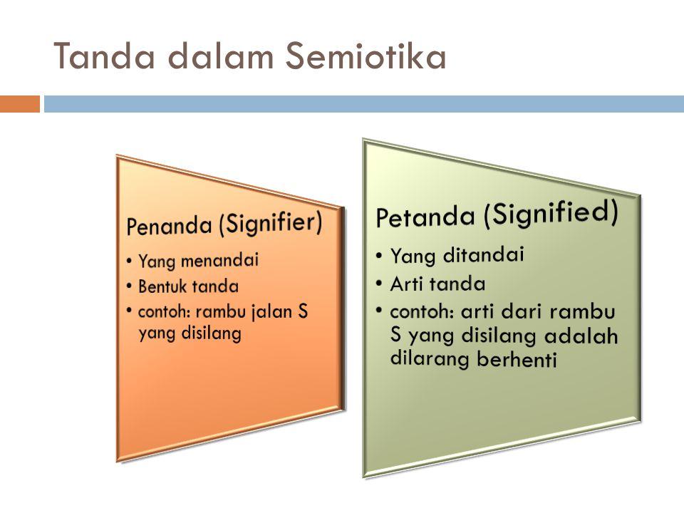 Tanda dalam Semiotika