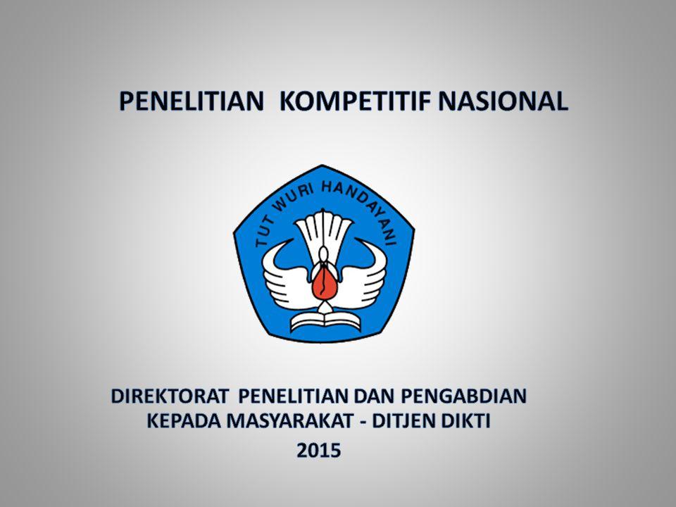 Penelitian Kompetitif Nasional No.