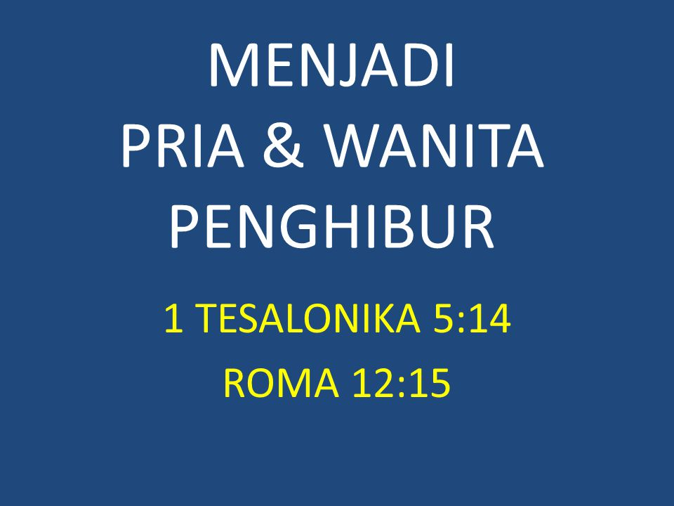 1 Yohanes 4:20 Jikalau seorang berkata: Aku mengasihi Allah, dan ia membenci saudaranya, maka ia adalah pendusta, karena barangsiapa tidak mengasihi saudaranya yang dilihatnya, tidak mungkin mengasihi Allah, yang tidak dilihatnya.