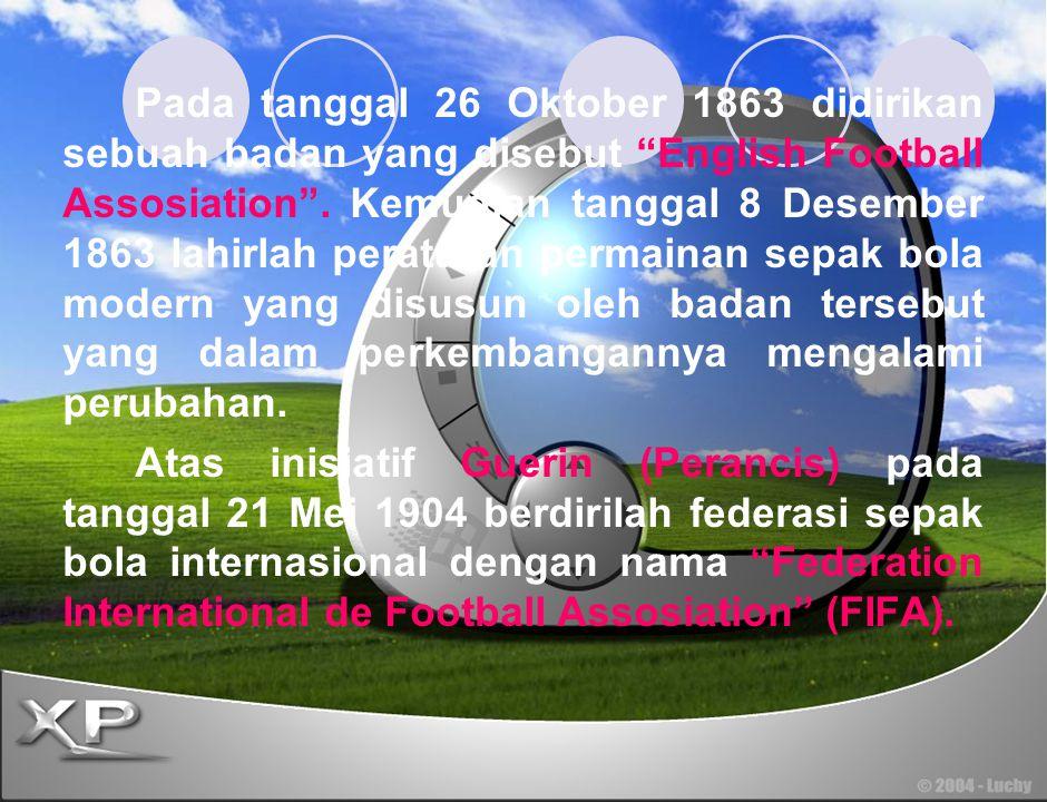 Kilas Sejarah Dari peninggalan-peninggalan sejarah, kita mengenal beberapa sebutan sepak bola. Pada zaman Cina Kuno semasa pemerintahan dinasti Han, s