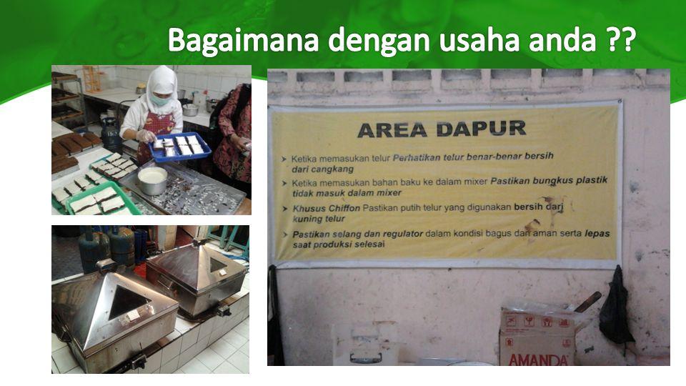 Lingkungan dan lokasi Lingkungan > Lingkungan sarana pengolahan hrs terawat baik, bersih dan bebas sampah.