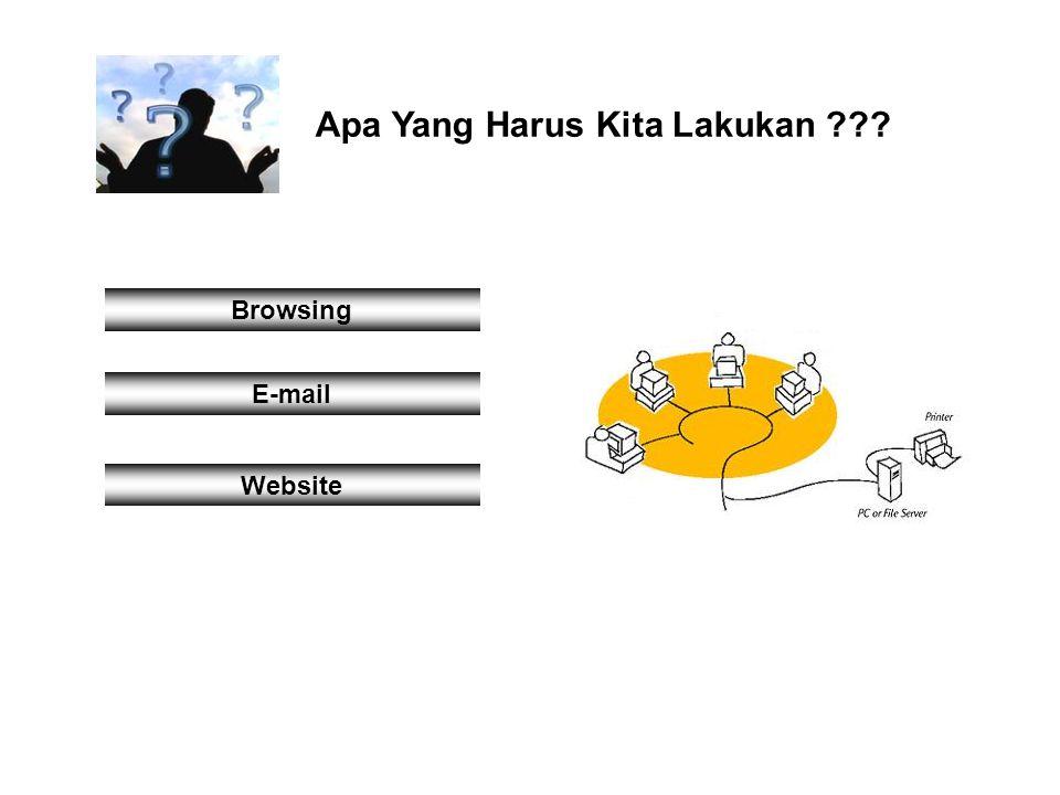 Apa Yang Harus Kita Lakukan ??? Browsing E-mail Website