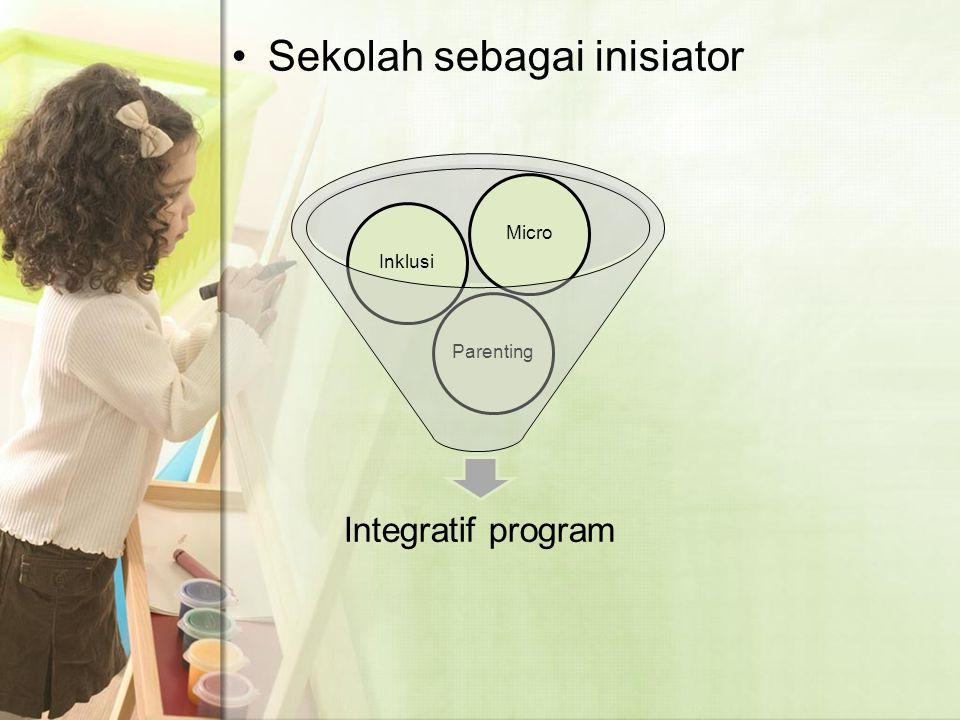 Sekolah sebagai inisiator Integratif program ParentingInklusiMicro