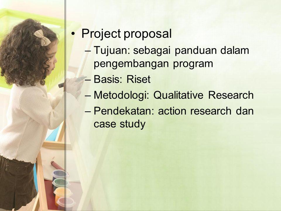 Research –Tujuan: mengembangkan model intervensi dini yang integratif bagi anak dengan gangguan pendengaran