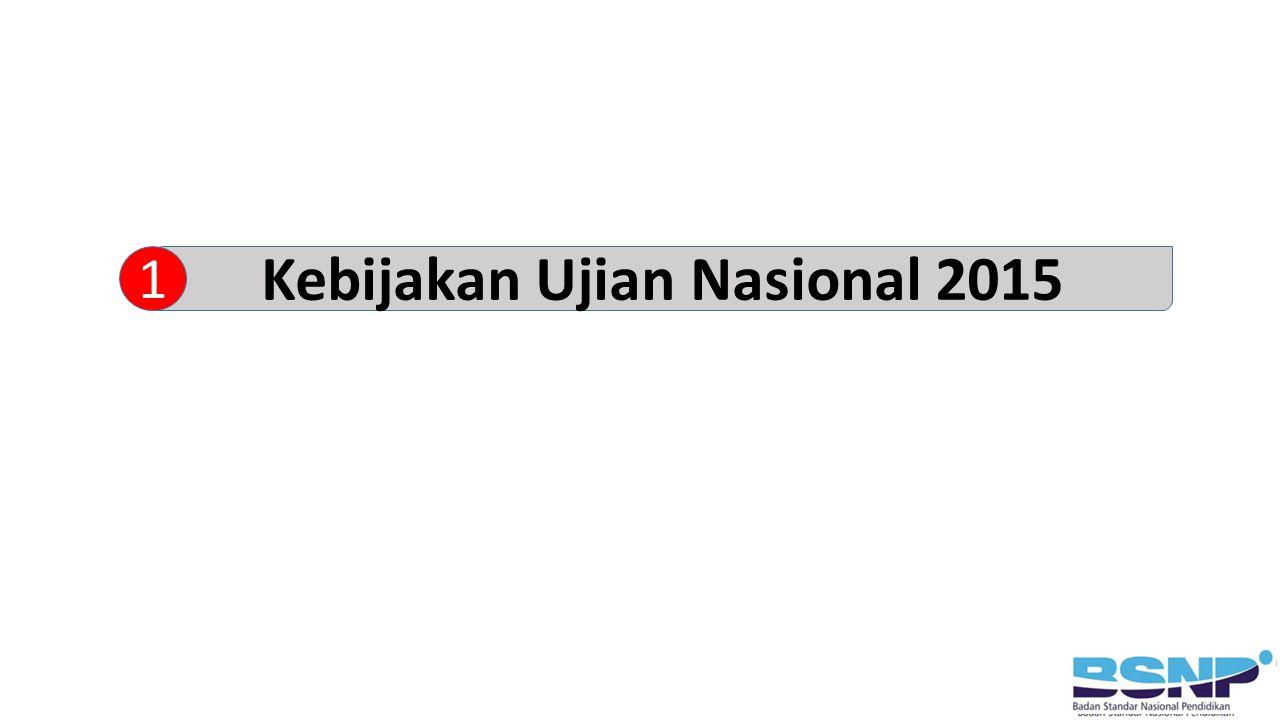 Kebijakan Ujian Nasional 2015 1