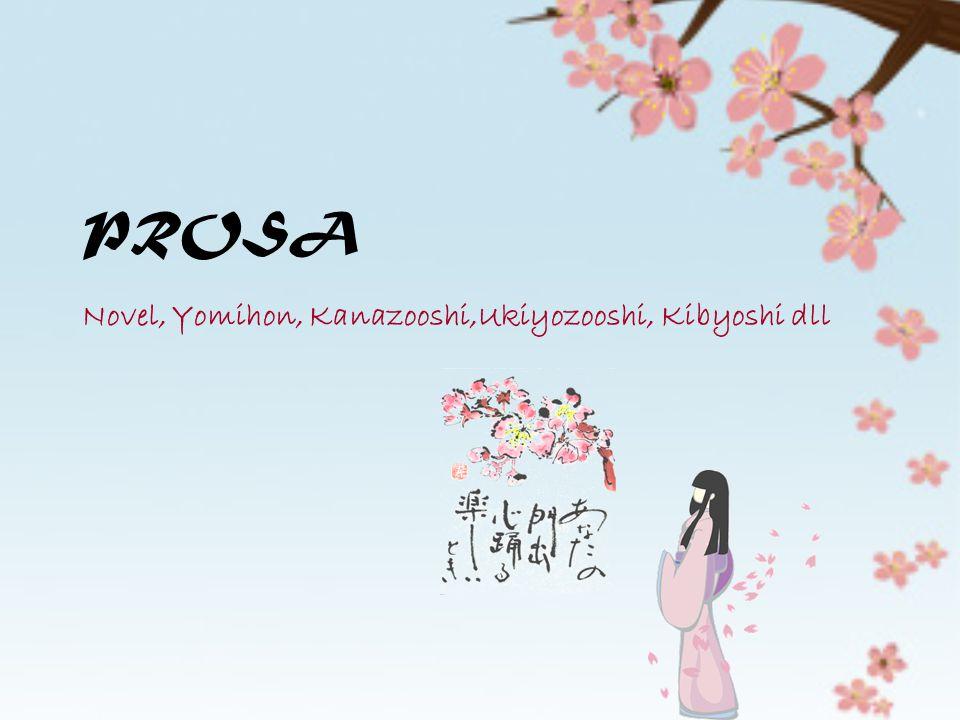 PROSA Novel, Yomihon, Kanazooshi,Ukiyozooshi, Kibyoshi dll