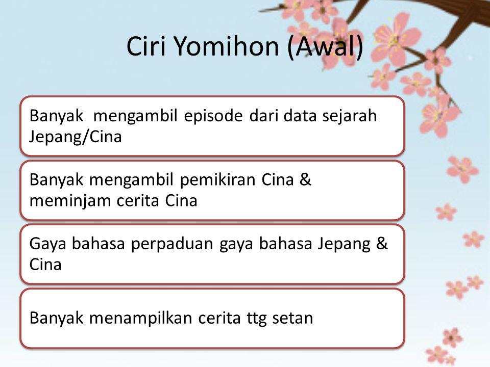 Ciri Yomihon (Awal)