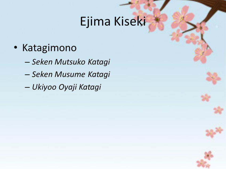Ejima Kiseki Katagimono – Seken Mutsuko Katagi – Seken Musume Katagi – Ukiyoo Oyaji Katagi