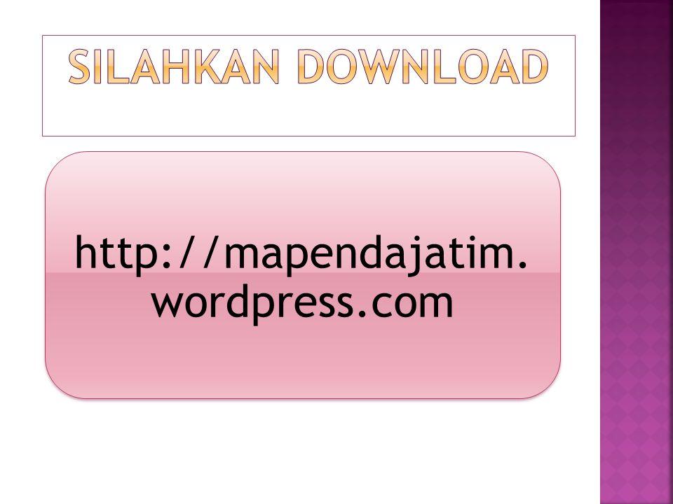 http://mapendajatim. wordpress.com