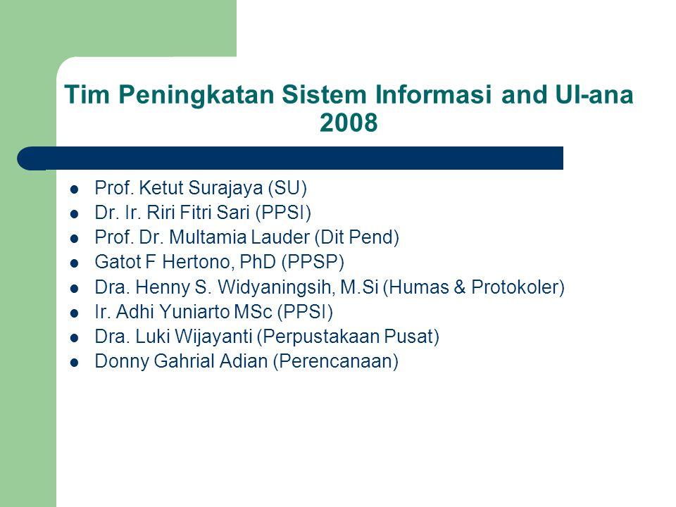 Prof. Ketut Surajaya (SU) Dr. Ir. Riri Fitri Sari (PPSI) Prof.