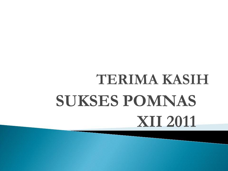 SUKSES POMNAS XII 2011