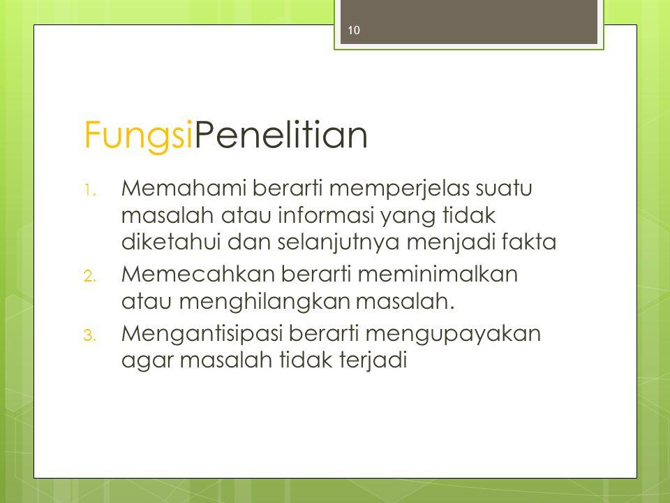 FungsiPenelitian 1.