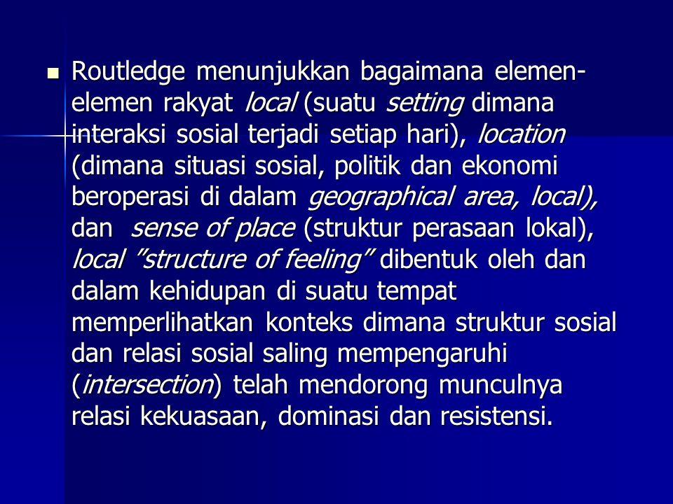 PROSES GERAKAN SOSIAL Ryon (DeRinzo, 1990) terdapat ada 4 tingkatan gerakan sosial: 1.