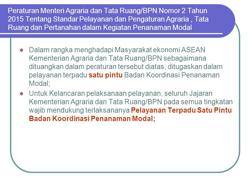 Pertimbangan Teknis Pertanahan Dalam Surat Edaran Kepala Badan Pertanahan Nasional RI Nomor 5 Tahun 2014 ditegaskan setiap kegiatan yang bertujuan unt