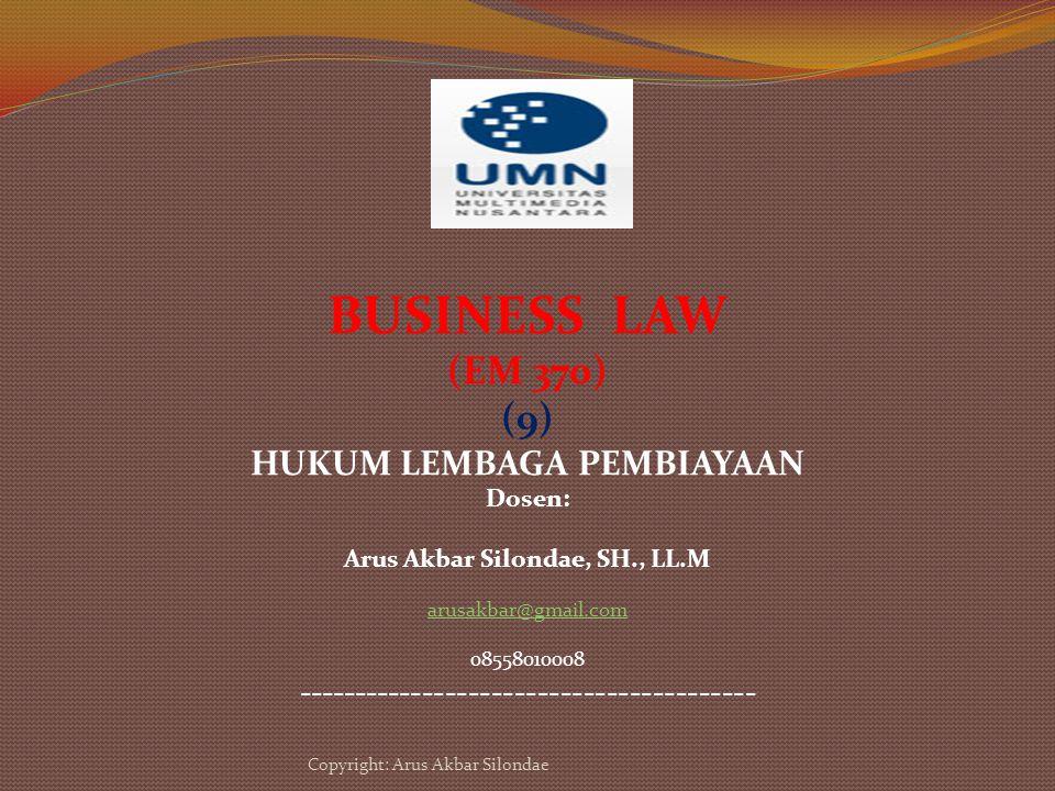 Hukum Bisnis Factoring Jasa-Jasa factoring 1.Financing Service 2.