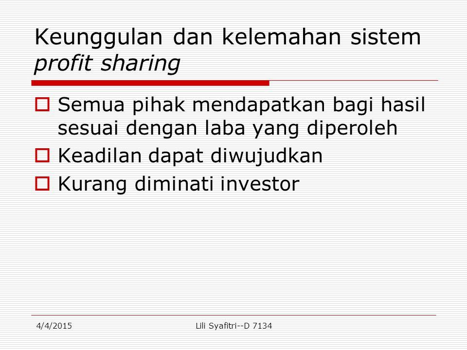 Perhitungan DP Tn Syahrul  Jadi bagian untuk Tuan Syahrul :  SR DP = ----- x TP TR  Rp8.290.322,58.