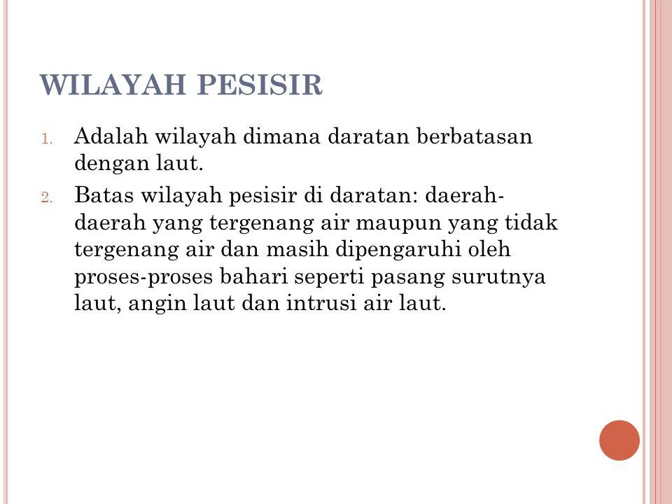 WILAYAH PESISIR (2) 3.