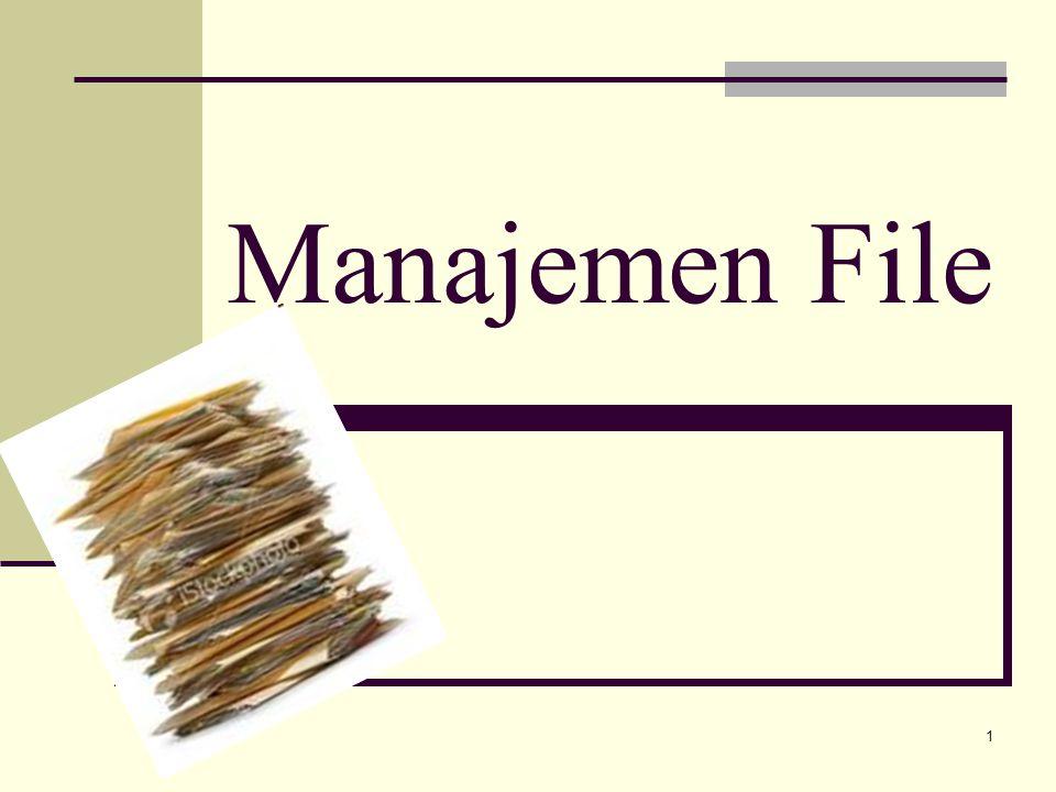 1 Manajemen File