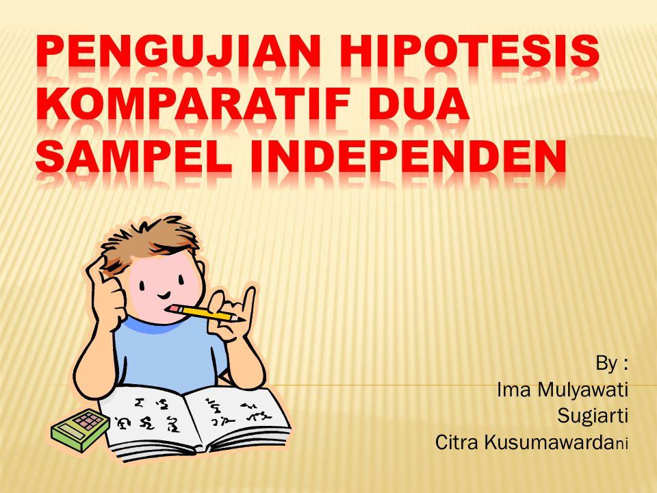 By : Ima Mulyawati Sugiarti Citra Kusumawarda ni
