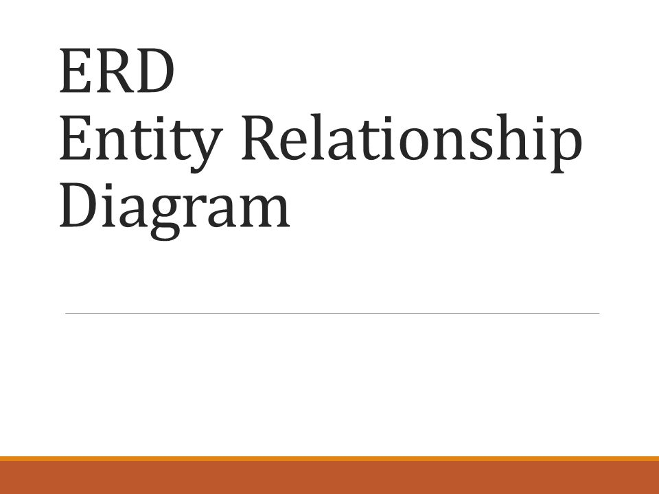 Langkah membuat ERD 1.Menentukan entitas -> Bagian, Pegawai, Pengawas, dan Proyek 2.