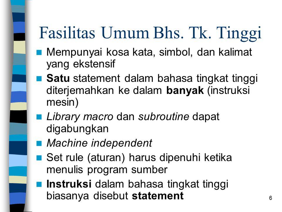 6 Fasilitas Umum Bhs.Tk.