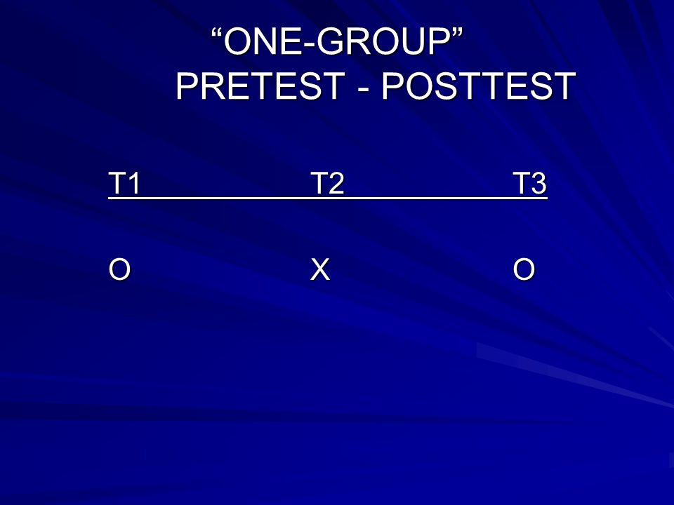 STATIC GROUP COMPARISON T1T2T3 XO O