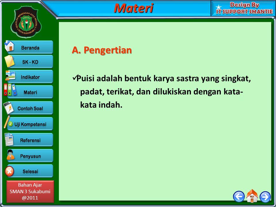 Bahan Ajar SMAN 3 Sukabumi @2011 Bahan Ajar SMAN 3 Sukabumi @2011 B.