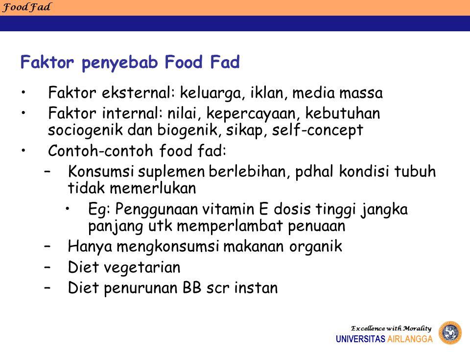 Faktor eksternal: keluarga, iklan, media massa Faktor internal: nilai, kepercayaan, kebutuhan sociogenik dan biogenik, sikap, self-concept Contoh-cont