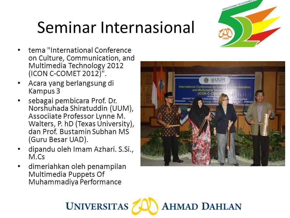 Seminar Internasional tema