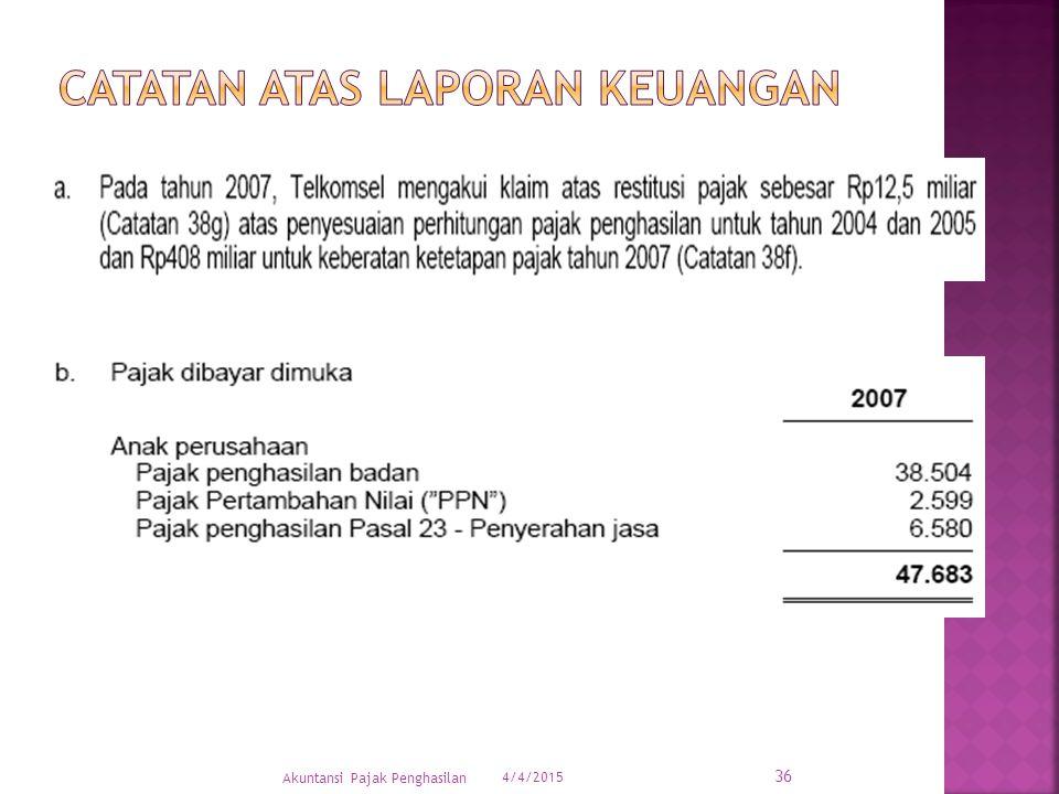 4/4/2015 36 Akuntansi Pajak Penghasilan