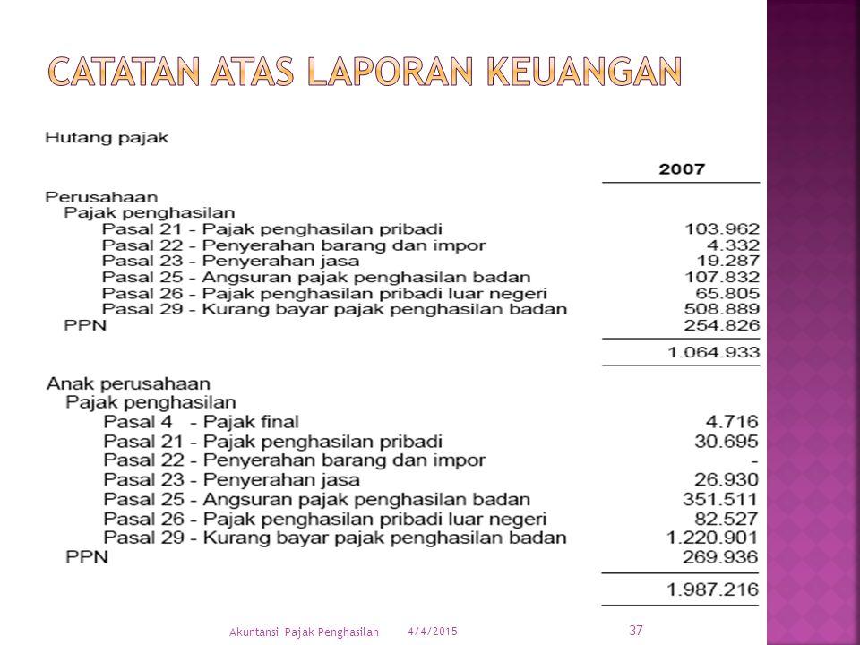 4/4/2015 37 Akuntansi Pajak Penghasilan