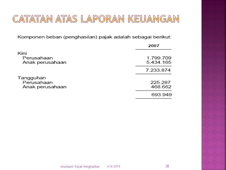 4/4/2015 38 Akuntansi Pajak Penghasilan
