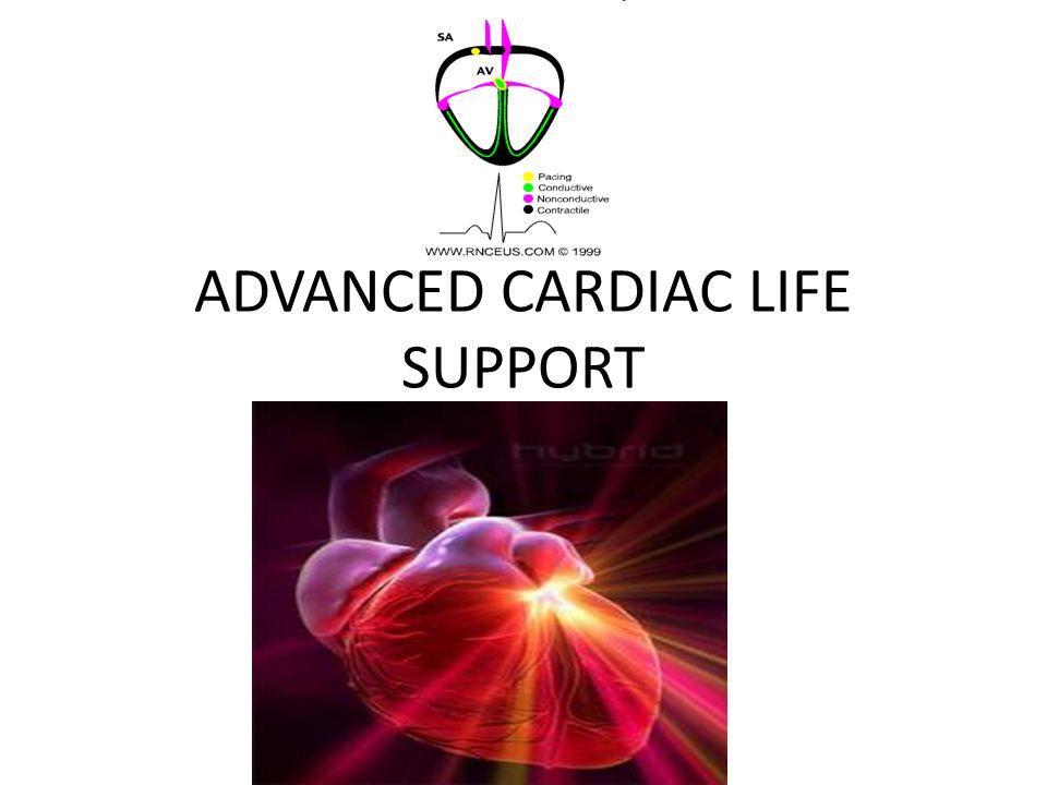 ALGORITME TANPA HENTI JANTUNG BRADIKARDI 1.Frekuensi jantung < 60 x/mnt dan tidak adekuat untuk kondisi klinik 2.Pertahankan jalan nafas, bila perlu 3.Berikan oksigen 4.Monitor EKG (kaji irama), tekanan darah, saturasi oksigen 5.Pasang IV