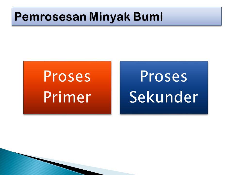 Proses Primer Proses Sekunder