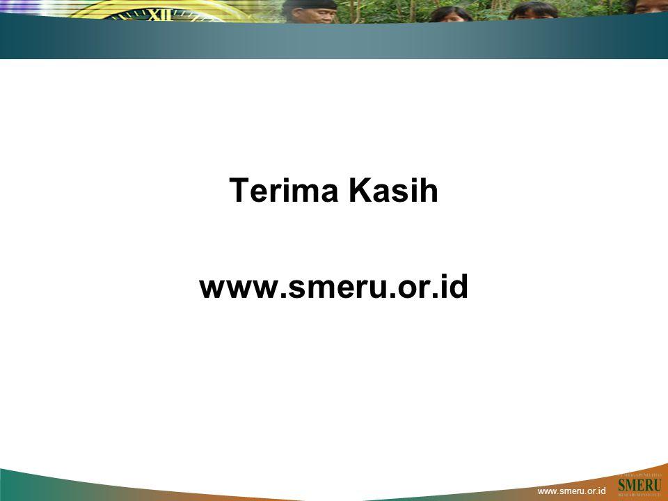 www.smeru.or.id Terima Kasih www.smeru.or.id