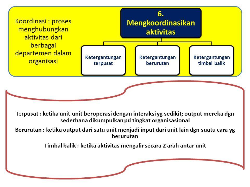 4. Mendistribusikan otoritas Pendelegasian Desentralisasi Sentralisasi Otoritas : kekuasaan yg telah disahkan oleh organisasi Pendelegasian : proses p