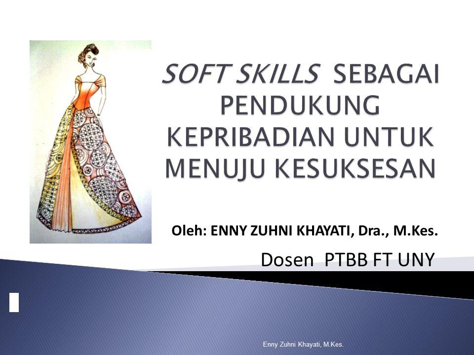 Oleh: ENNY ZUHNI KHAYATI, Dra., M.Kes. Dosen PTBB FT UNY Enny Zuhni Khayati, M.Kes.