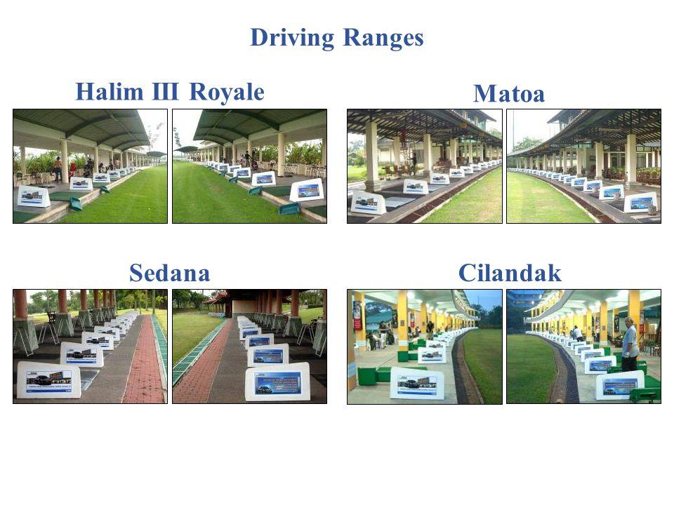Halim III Royale Matoa SedanaCilandak Driving Ranges