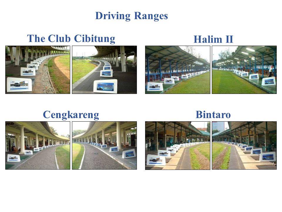 The Club Cibitung Halim II CengkarengBintaro Driving Ranges