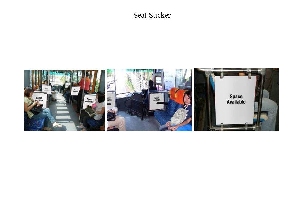 Seat Sticker