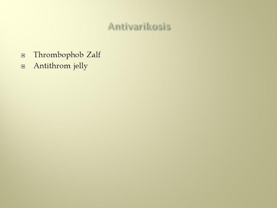  Thrombophob Zalf  Antithrom jelly